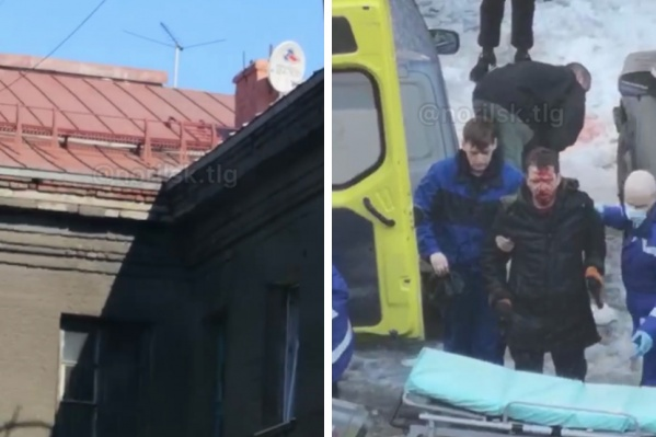 Мужчина серьезно пострадал