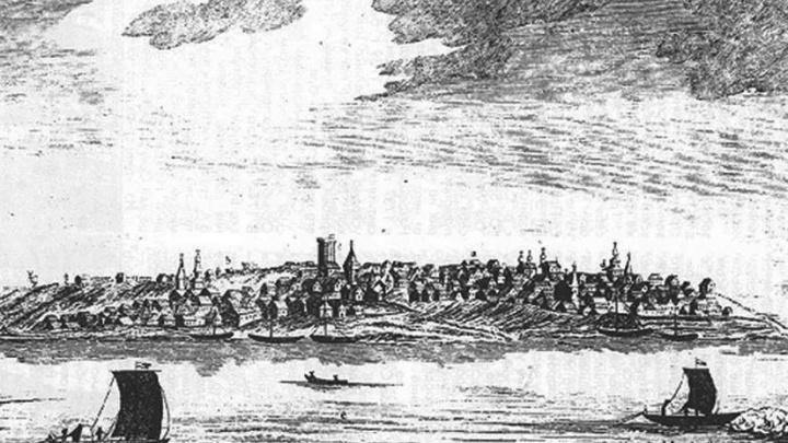За пределами империи: ученые нашли самый достоверный рисунок крепости Самара