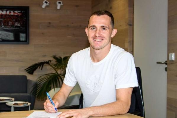 Накануне Лунёв подписал контракт с «Байером»