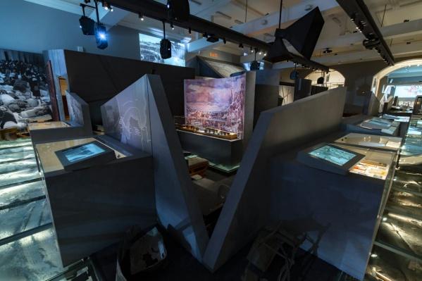 Так выглядит экспозиция музея в Санкт-Петербурге