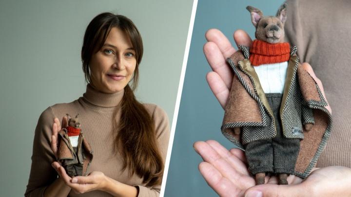 Северянка в декрете шьет необычные игрушки: иностранцы просто в восторге от ее «живых» нарядных зверят