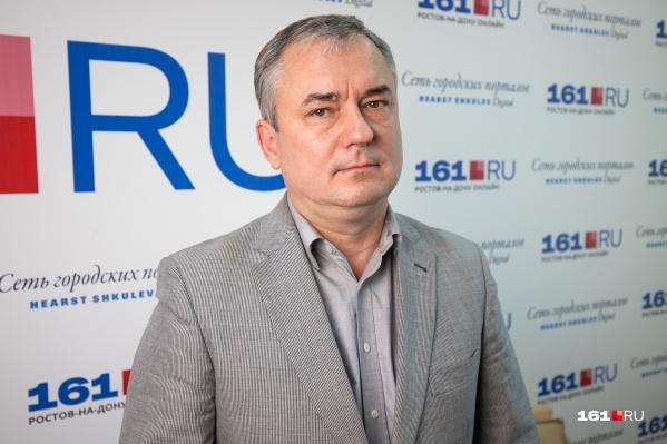 Николай Сухомлинов — один из адвокатов семьи Бабаевых