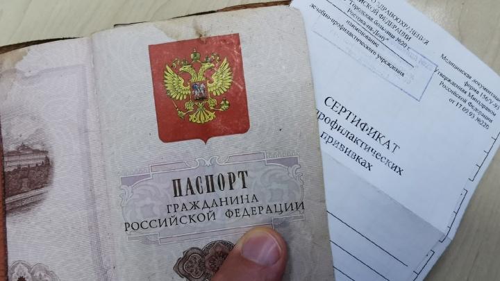 Дончанина заподозрили в торговле сертификатами о вакцинации и одинаковыми QR-кодами