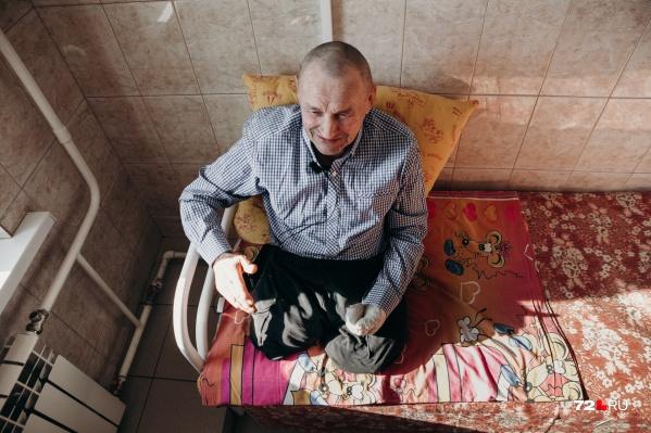 Виктор Пинигин — тот самый попрошайка, спасенный волонтерами