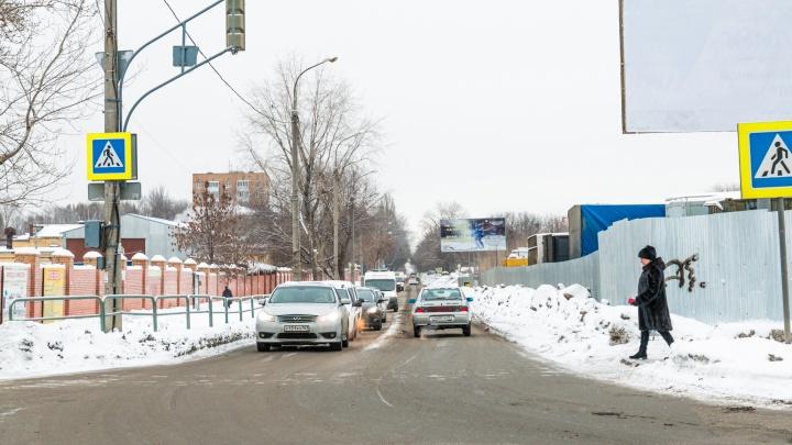 На улице Советской Армии увеличат количество полос движения