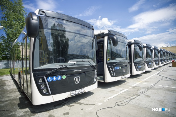 Новые автобусы будут ходить по Советскому району