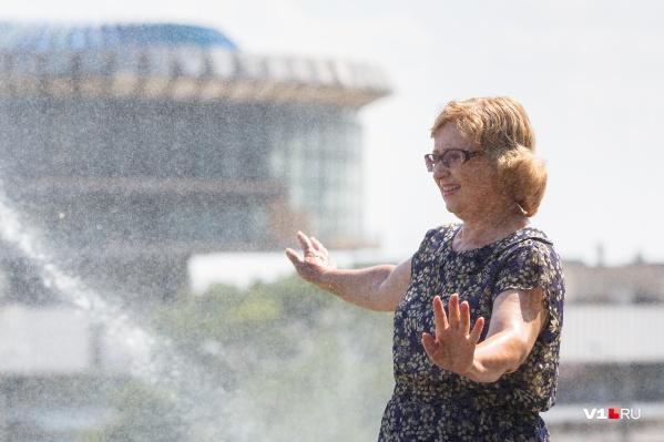 Испепеляющая жара отступит от Волгограда лишь на пару дней