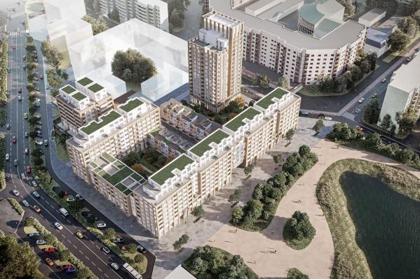 Здесь архитекторы применят много инновационных решений из сферы современного девелопмента