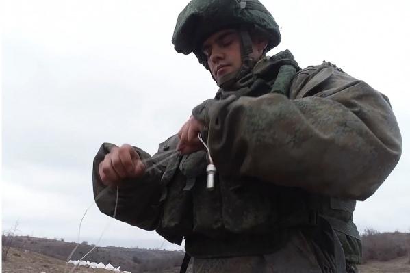 За три месяца российские миротворцы разминировали25тысяч взрывоопасных предметов в Нагорном Карабахе