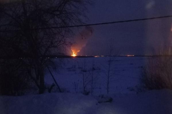Взрыв произошел на территории порохового завода. Его было видно издалека