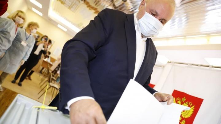 Выборы в Госдуму: кто из чиновников Кузбасса уже отдал свой голос