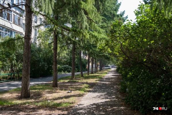 В порядок приведут еще одну зону для пешеходов на Комсомольском проспекте