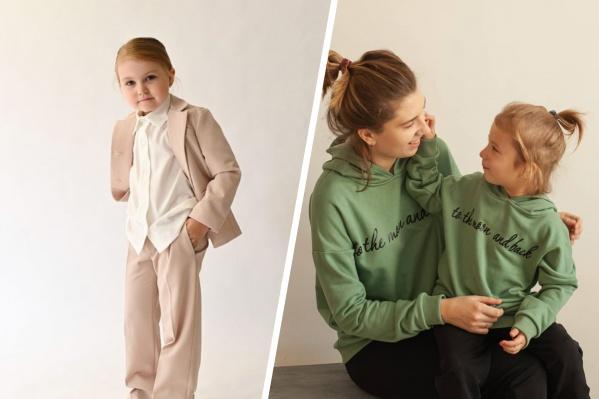 Удобная и стильная одежда для маленьких модников — такой стиль придумала для детей Ксения Дудникова