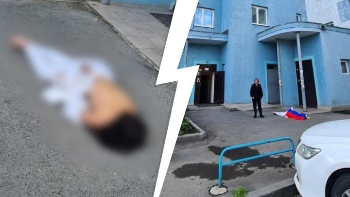 На Сортировке девушка выпала из окна высотки и разбилась