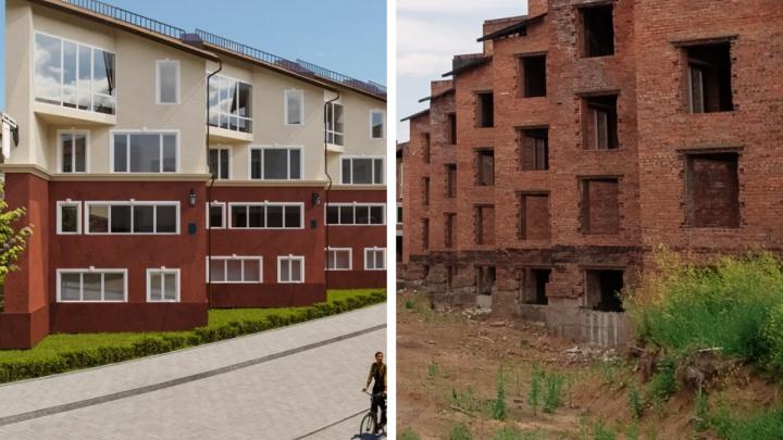 Реанимация старой заброшки: кто взялся достраивать кемеровский поселок «Снегири» и что там будет теперь