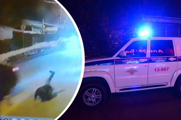 Свердловские госавтоинспекторы ищут водителя, который сбил мужчину