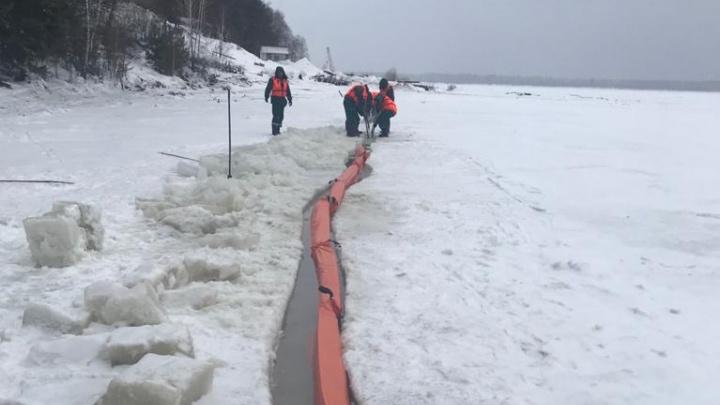 Минэко подало иск против КНП на 300 миллионов рублей за разлив дизтоплива в Мотыгинском районе