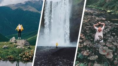 Блогер из Кемерово делает невероятные снимки природы на телефон. Показываем 20 кадров из путешествий по Исландии и Америке