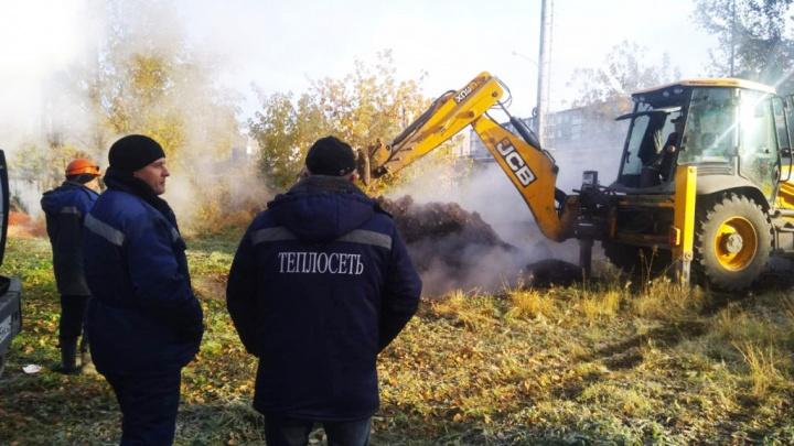Четыре тысячи человек остались без отопления в Ачинске из-за аварии