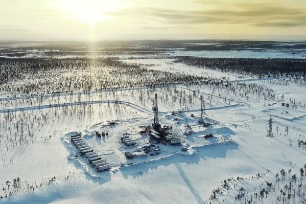 """Оператор месторождения — «Газпромнефть-Ноябрьскнефтегаз», которое разрабатывает более <nobr class=""""_"""">30 месторождений</nobr> на Ямале и в Югре"""
