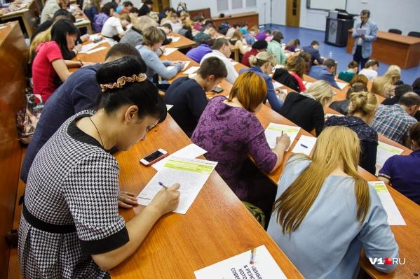 Тестированию подвергнут тысячу студентов и школьников