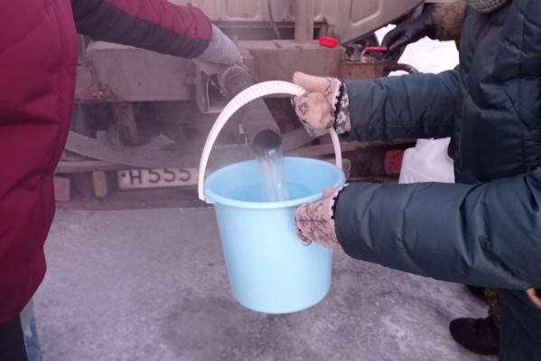 Некоторые дома в Архангельске из-за мороза остались без воды