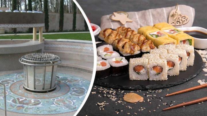 «Еда вне политики»: красноярская доставка японской кухни назвала набор роллов «Аквадискотека»