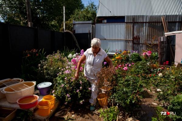 Жители частного сектора опасаются, что из-за потопа они могут остаться без урожая