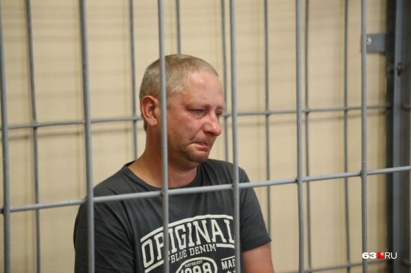 Бывший полицейский много плакал во время процесса