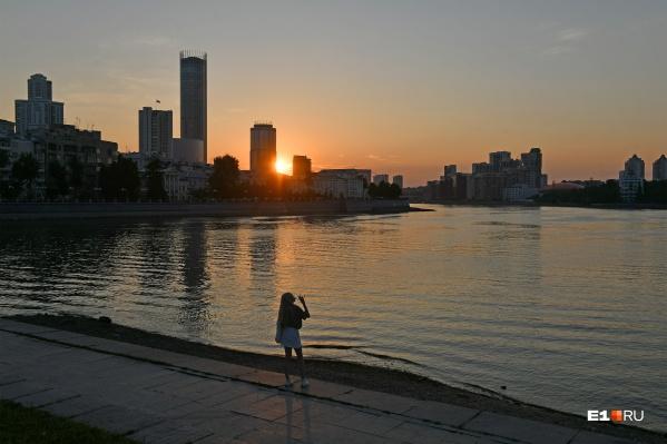 Новая неделя в Екатеринбурге будет сухой, но прохладной