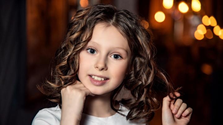 Юная архангелогородка стала одной из самых красивых девочек страны