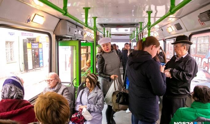 Приложения для отслеживания автобусов перестали работать в Красноярске