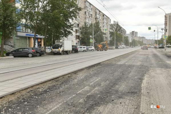 Так сейчас выглядит улица Викулова