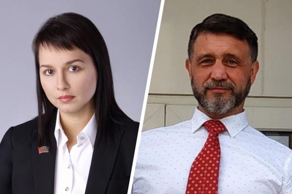 Ирина Горбунова избиралась от «Единой России», а Сергей Медведев представлял КПРФ