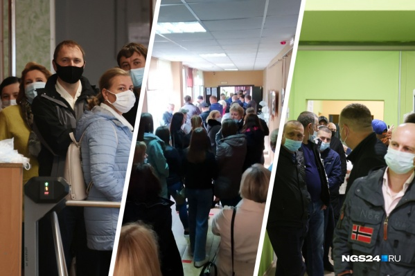 Люди так ответственно отнеслись к голосованию, что терпеливо ждали в длинных очередях