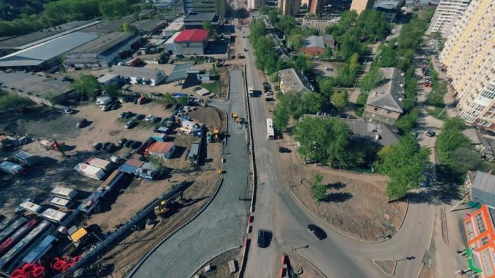 На улице Карпинского в Перми временно изменится схема движения транспорта