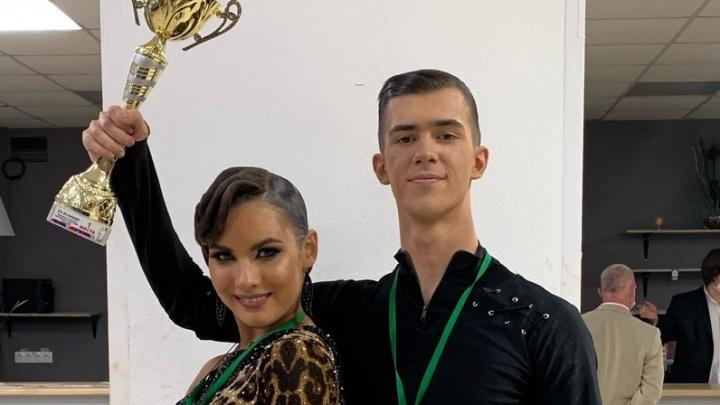 Пара из Волгограда стала лучшей на чемпионате по бальным танцам