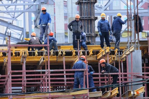 В строительной сфере назревал дефицит трудовых мигрантов