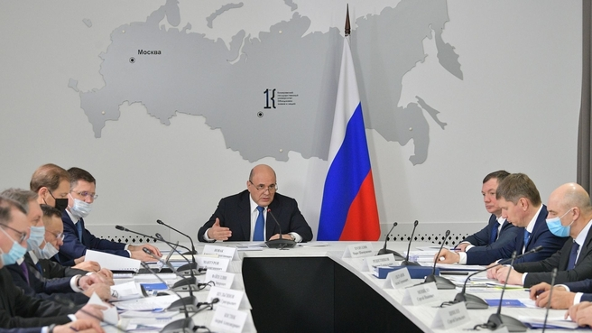 Мишустин поручил развивать в Кузбассе пассажирские железнодорожные перевозки