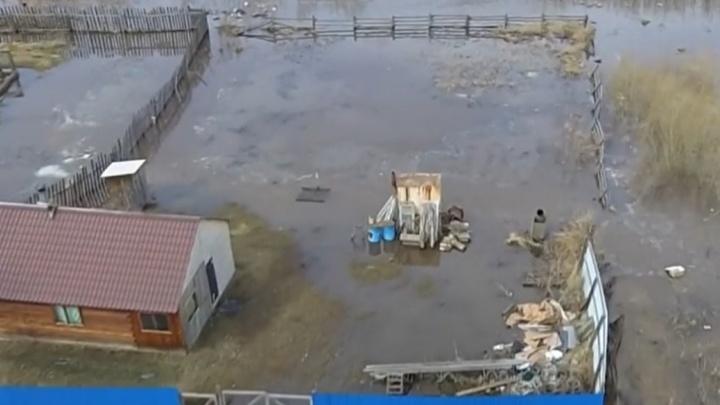 В Енисейском и Туруханском районах объявили режим повышенной готовности из-за угрозы паводков