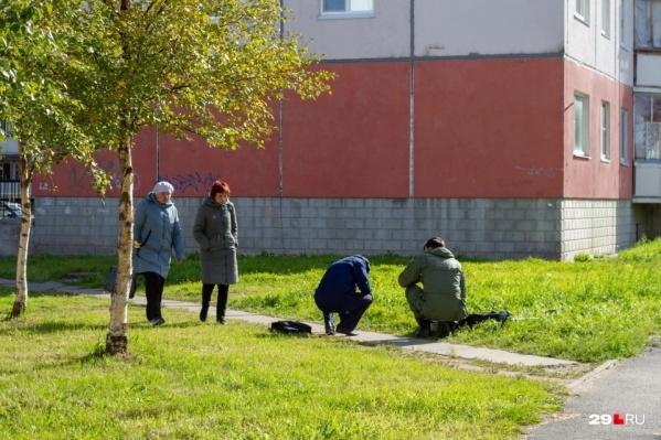 """<a href=""""https://29.ru/text/criminal/2021/09/11/70130402/"""" class=""""_"""" target=""""_blank"""">Так следователи работали</a> не только рядом с мостом и тротуаром, где нашли юношу с ранениями"""