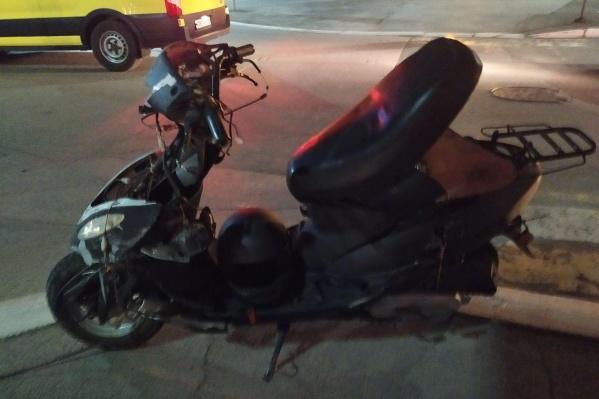 Авария с участием водителя мопеда произошла 4 мая