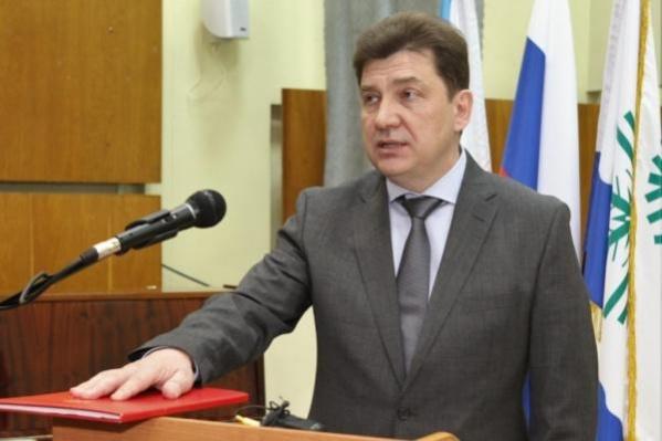Сергей Андреев отработал на посту главы Новодвинска уже пять лет