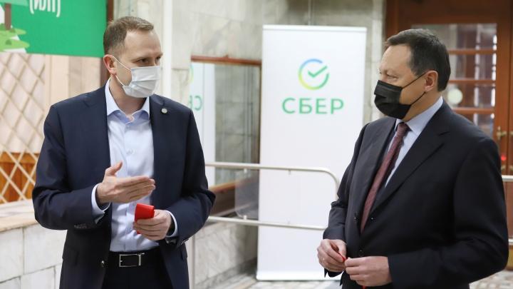 Сбер и СибГУ им. М.Ф. Решетнёва открыли кампус