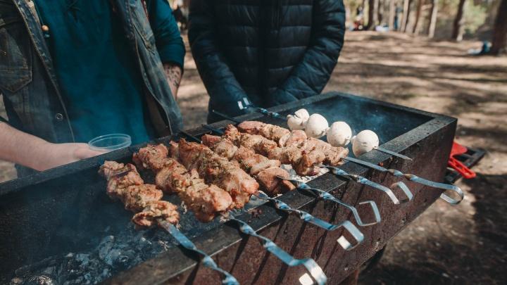 В Гилёвке можно? А на даче? Где разрешено жарить шашлыки в Тюмени — список мест