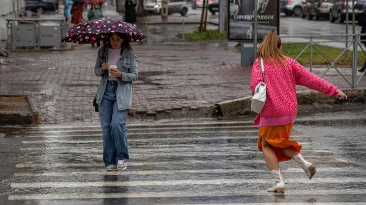 Новосибирские синоптики ждут дожди в начале недели. Какая будет температура в городе?