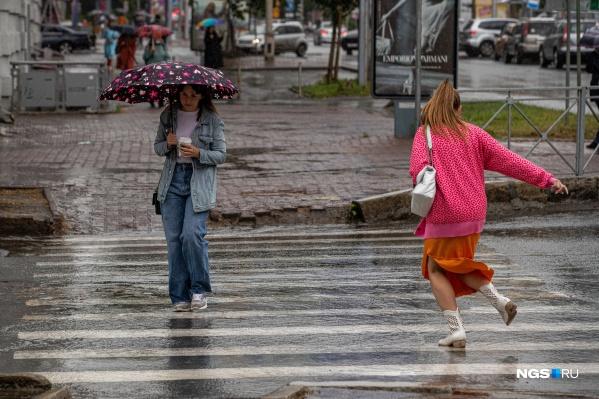 Синоптики предупреждают о дождях и грозах