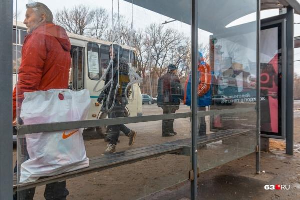 Маршрут обслуживают автобусы ПАЗ