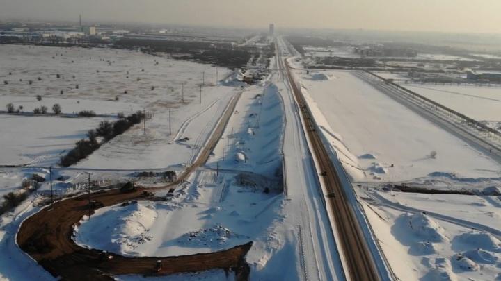 «Нагородили — мама не горюй»: строительство трассы Тольятти — Ягодное сняли на видео