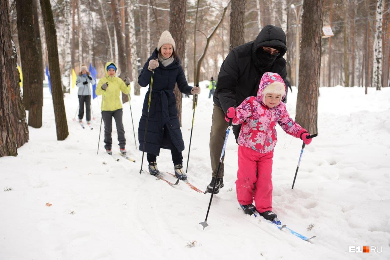 Лыжная трасса здесь была интереснее, чем в «Калининце»